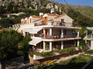 Apartment Green on the beach front villa Zaton bay, Dubrovnik