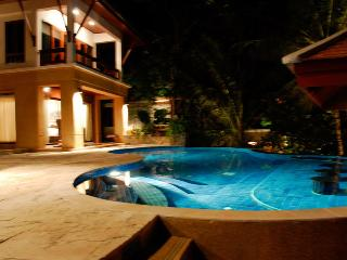Swimming Pool shot at Night