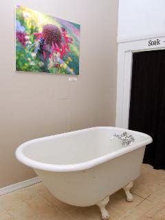 small claw foot tub
