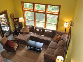 $800 OFF LAKE HOUSE  5 BR/3 BA Baby Equipped -private beach, new game/media room, Bethel