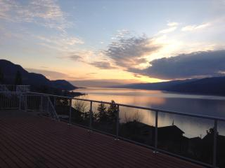 Sunrise lakeview from the lower deck