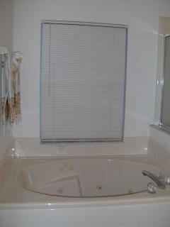 Partial View Huge Garden/Soaking Tub Bathroom Has Pocket Doors