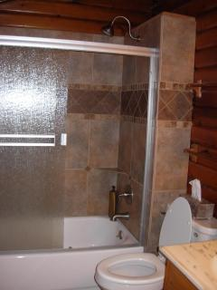 Tile shower/bath
