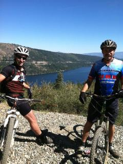 Mtn Biking above Donner Lake