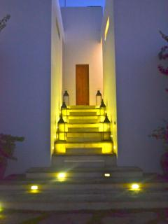 Night time pics of the stairs