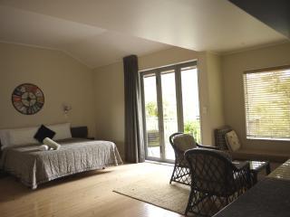Spacious living Area with Sky TV
