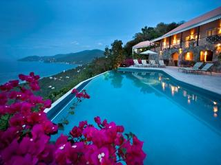 St. Bernard's Hill House at St. Bernard's Hill, Belmont, West End Tortola - Ocean View, Pool, Tropic
