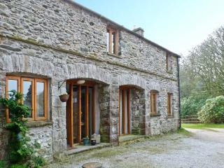 MORESDALE BANK COTTAGE, stone built cottage, with three bedrooms, woodburning st