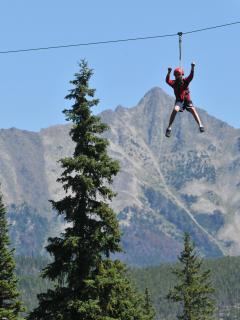 Zipline - Big SKy Resort