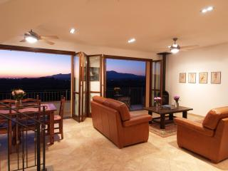 The French doors and can be opened to allow you to enjoy the breeze