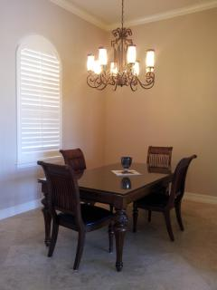 Formal Dining Room open to kitchen and living room