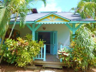 Casa Garden,joli duplex équipé dans un jardin tropical