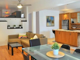 3 BR chic apt : terrace & parking (close to metro), Montreal