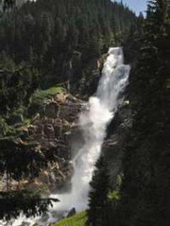 Krimml waterfalls Europe's highest