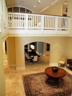 Foyer with Loft