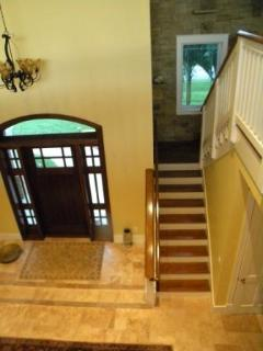 Foyer Stairs to Loft