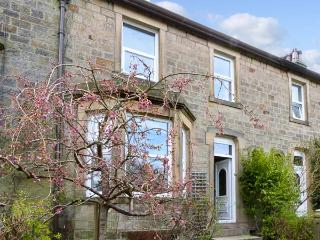 5 RIBBLE TERRACE, a stone-built cottage overlooking the river, with three bedrooms, and open fire, in Settle, Ref 13887