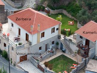 Air photo of Olive Villas complex