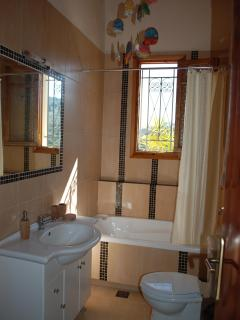 Bathroom, villa Zerbera