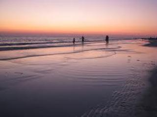 Sunset on Siesta Key Beach