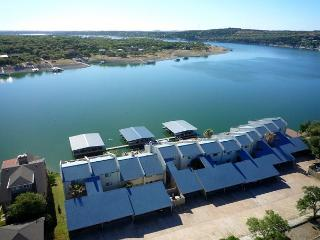Waterfront Condo and Deep Water Dock & Boat Slip, Spicewood