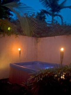 Large Outside private Hot Tub