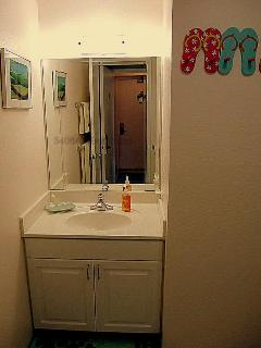 A-Unit bathroom vanity