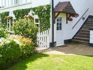 SEVERN BANK LODGE, single storey cottage, with two bedrooms, off road parking, a