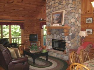 GENUINE LOG HOUSE- BEAUTIFUL COMFORTABLE GETAWAY, Galena