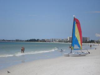 Siesta Key private beach access