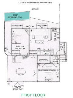 Floor plan (excluding loft)