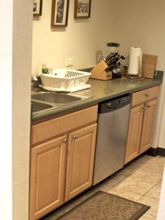 Galley Kitchen...dishwasher-counter...