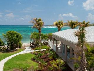 Cruzan Sands Villa! BEACHFRONT! New! Pool! Amazing Views!  Snorkel! Swim! Play!