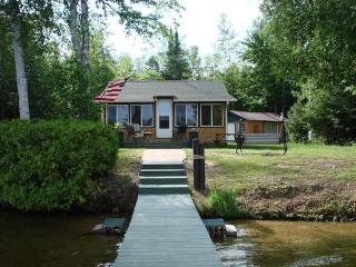 Lakefront Cottage in a Secluded Wilderness Setting, Gwinn