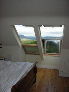 Main bedroom overlooking Lough Currane