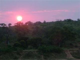 With its position, not only overlooking Kruger but in line for magnificant sunset every night