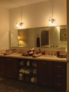 Master bath with Duel  Sinks