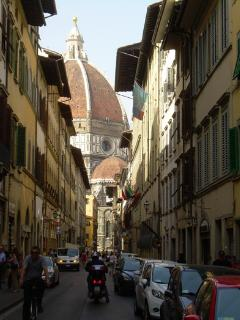 the Duomo as seen from Via de' Servi 42