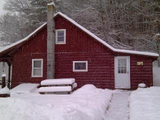 Our house in the winter.