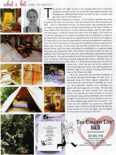 Article in California QWedding Day Magazine