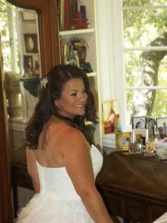 Our beautiful bride Tamara!