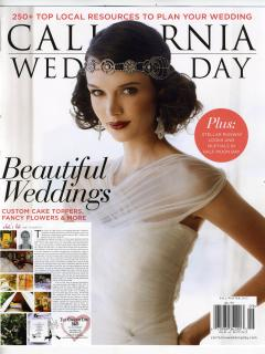 The Chianti Life is featured in California Wedding Day Magazine Fall/Winter 2012!!