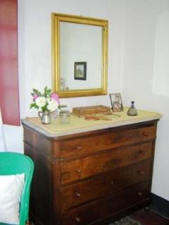 bedroom- a 19th century chest of drawers