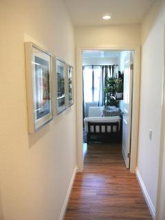 Another view of the upstairs hallway - kids room to your right
