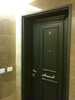 Apartment's front door