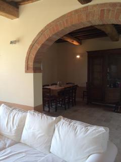 Living Room with Dining Beyond