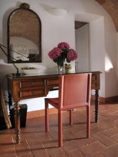 Desk in Dining Area