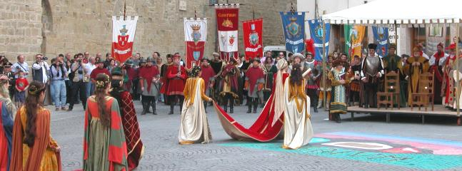 Annual medieval festival in Camerino in May