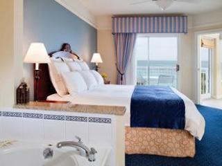 Master bath with oversized spa tub