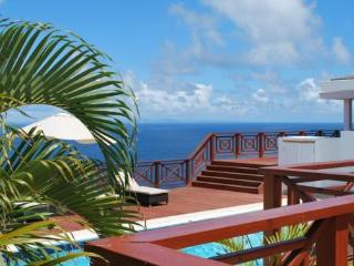 Villa at Panorama at Saline Point, Cap Estate, Saint Lucia - Ocean View, Pool, Air Conditioning